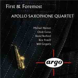 Apollo Saxophone Quartet - First & Foremost download free